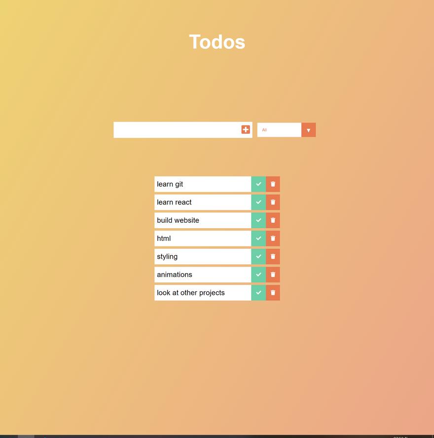 todo app by Auxfuse