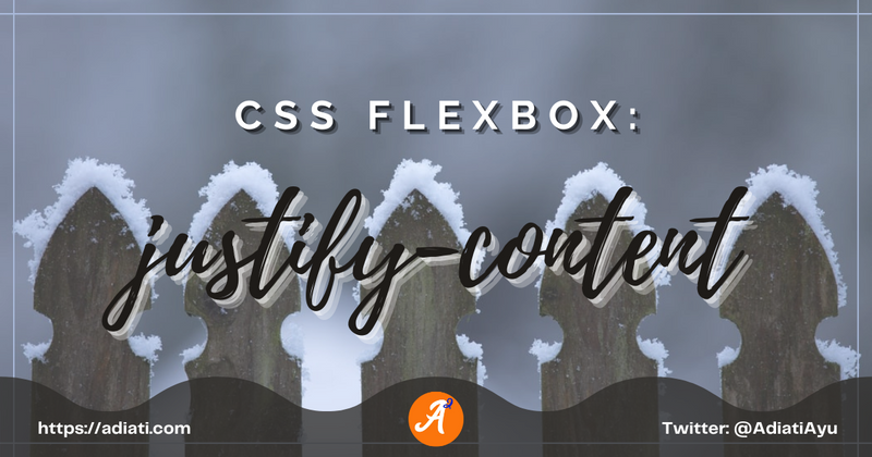 Cover image for CSS Flexbox: justify-content