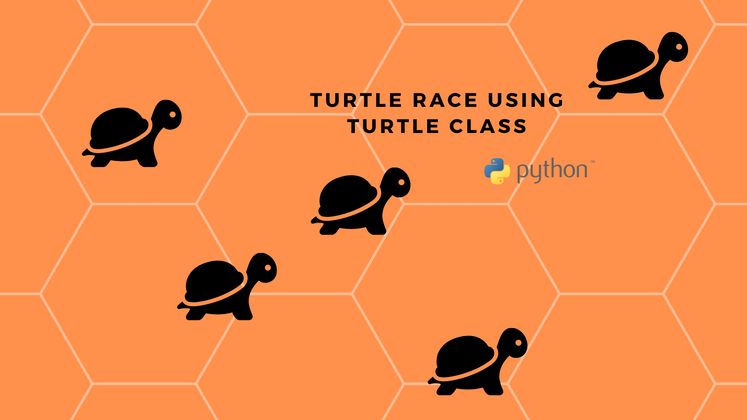 Cover image for Turtle Race game in Python using Turtle class!