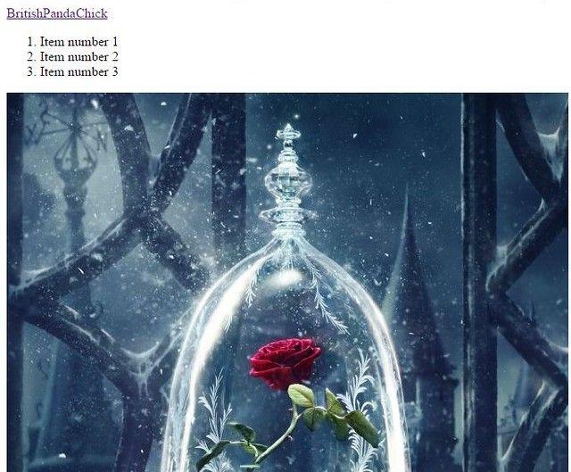 BritishPandaChick Item Number 1 Item Number 2 Item Number 3 Magic Rose Image
