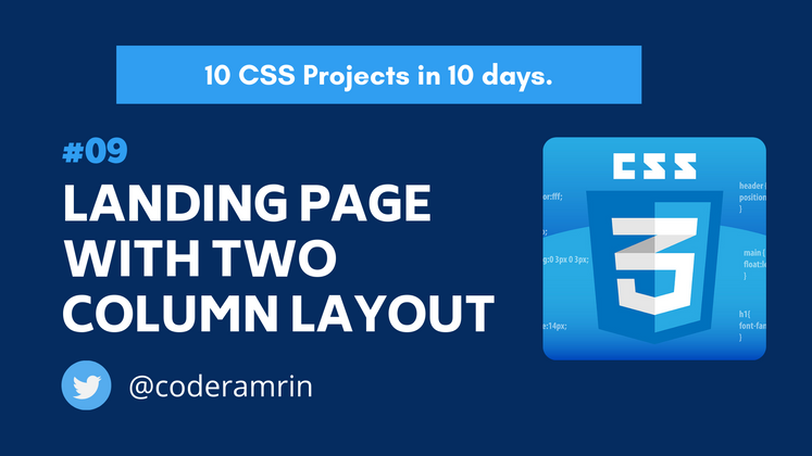 Cover image for Build 10 CSS Projects in 10 days: Project 9