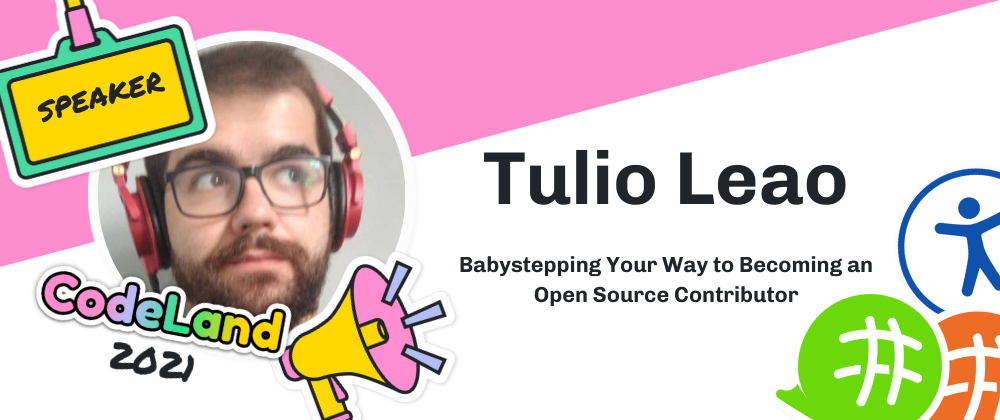 Cover image for [On-Demand Talk] Babystepping Your Way to Becoming an Open Source Contributor