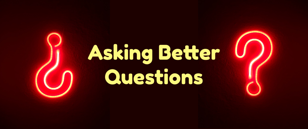 Cover image for Asking better questions