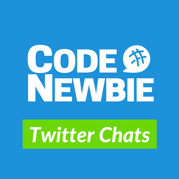 CodeNewbie Twitter Chat Card.