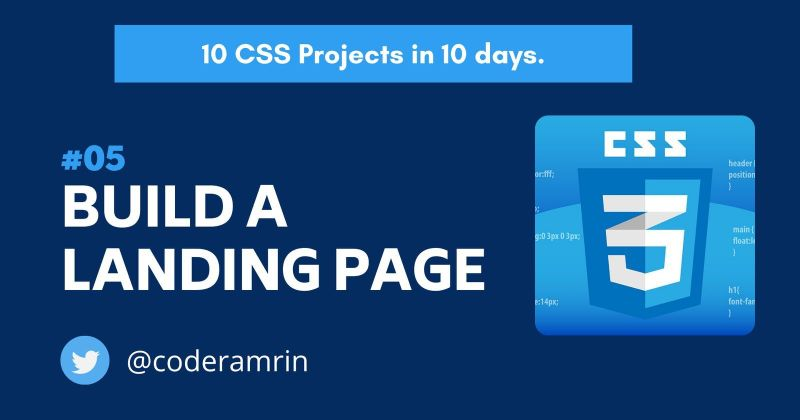Cover image for Build 10 CSS Projects in 10 days: Project 5