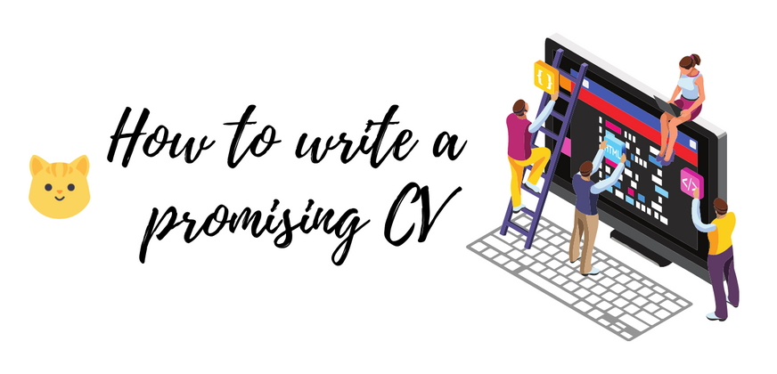 Cover image for How to write a promising CV