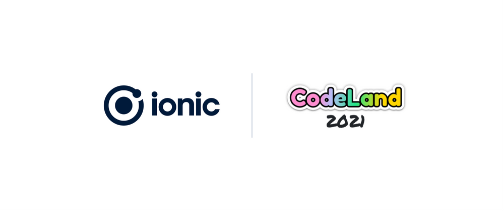 Cover image for Hello! Ionic is excited to join you at CodeLand 2021!