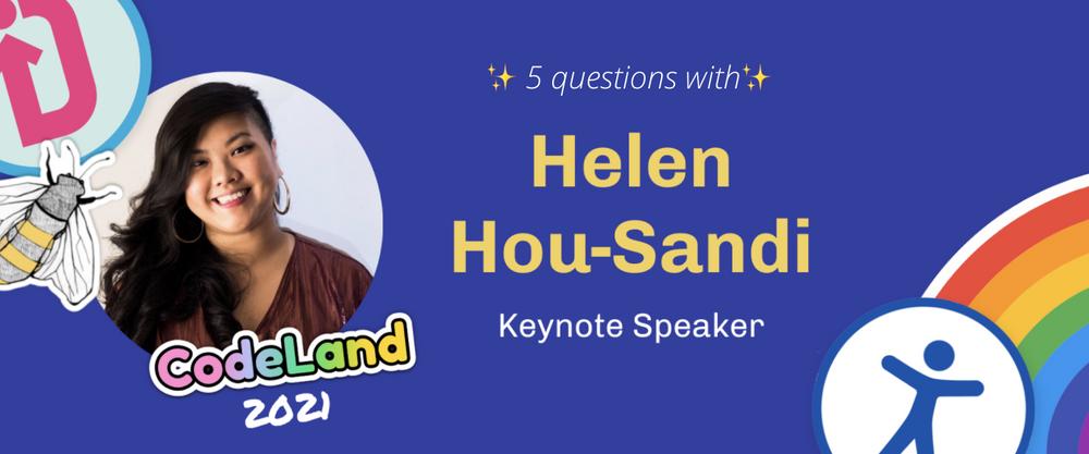 Cover image for Meet CodeLand Keynote Speaker Helen Hou-Sandí