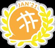 Writer of the Month Award Jan '21