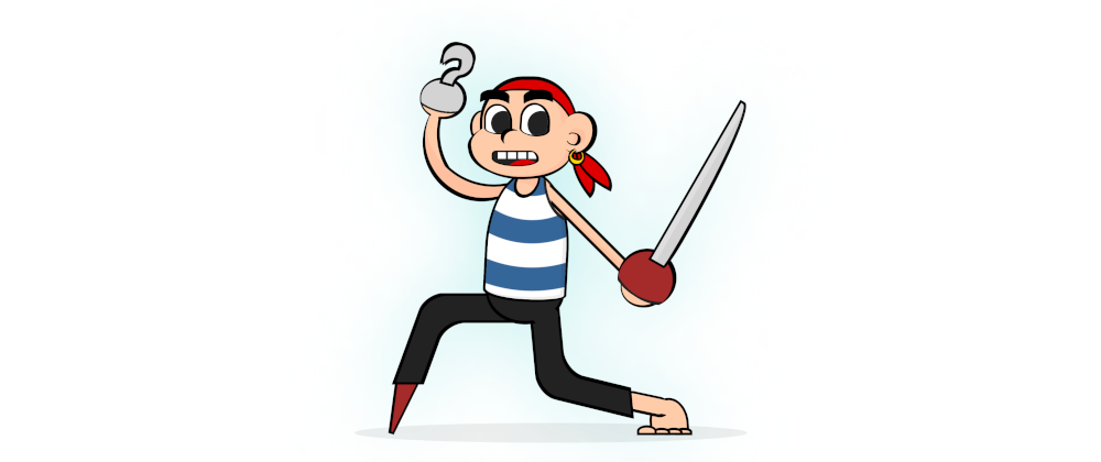 Cover image for CSS Pirate Cartoon