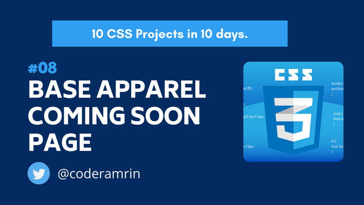 Cover image for Build 10 CSS Projects in 10 days: Project 8