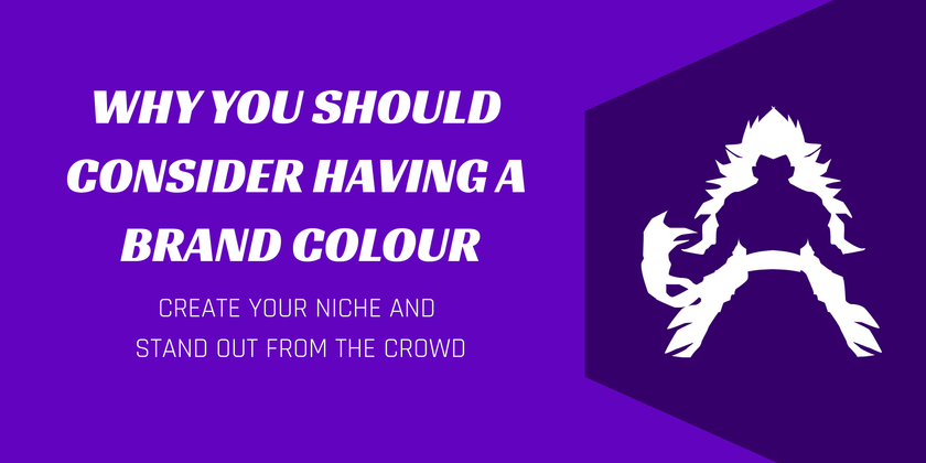 Cover image for Why you should consider having a brand colour