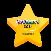 CodeLand 2021 Keynoter Badge