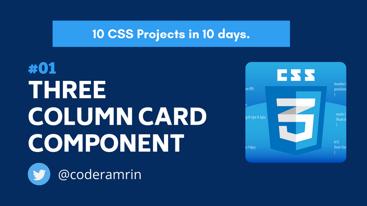 Cover image for Build 10 CSS Projects in 10 days: Project 1