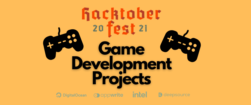 Cover image for Game Development Projects for Hacktoberfest
