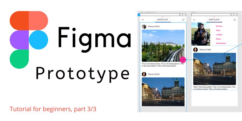 Cover image for Figma Tutorial: Create a Post Page For a Social Media App | Part 3/3