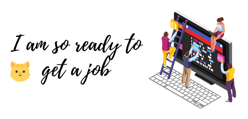 Cover image for I am so ready to get a job. #CNC2021