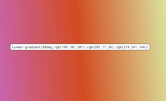 Cover image for Coding a random CSS gradient generator!