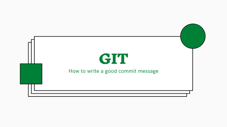 Cover image for How to write a good commit message