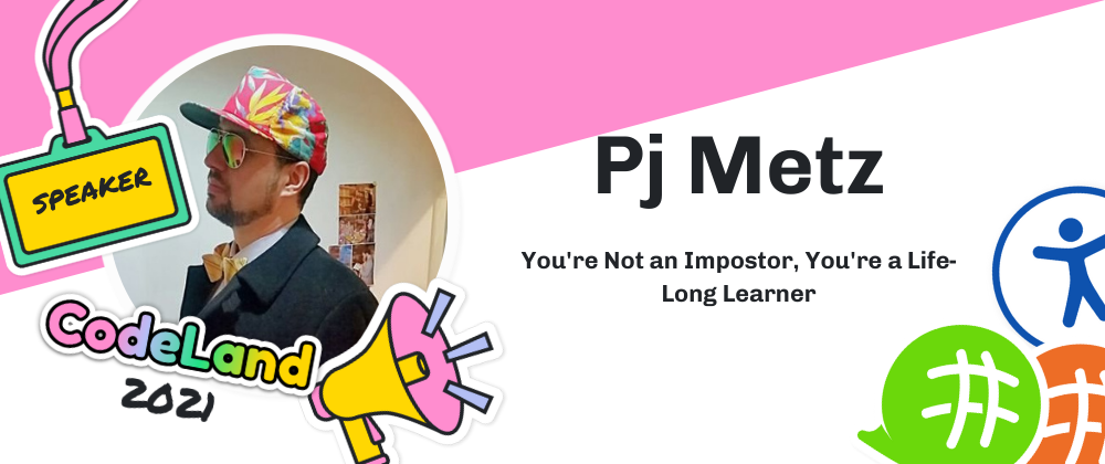 Cover image for [On-Demand Talk] You're not an Imposter, You're a Life-Long Learner