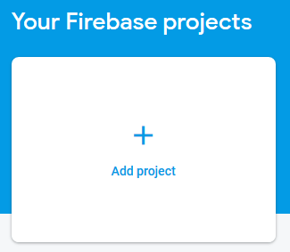 """""""Add a Project Card"""""""