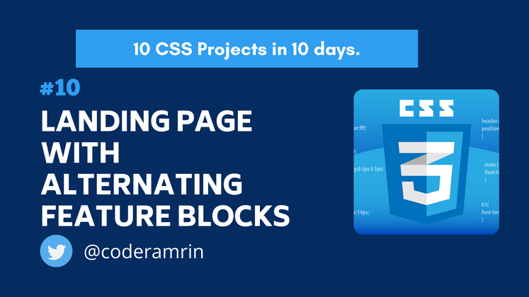 Cover image for Build 10 CSS Projects in 10 days: Project 10