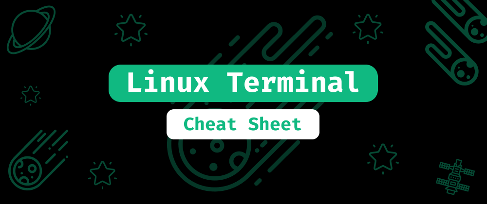 Cover image for Linux Terminal: The Ultimate Cheat Sheet